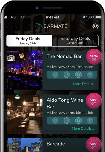 Barmate iPhone app